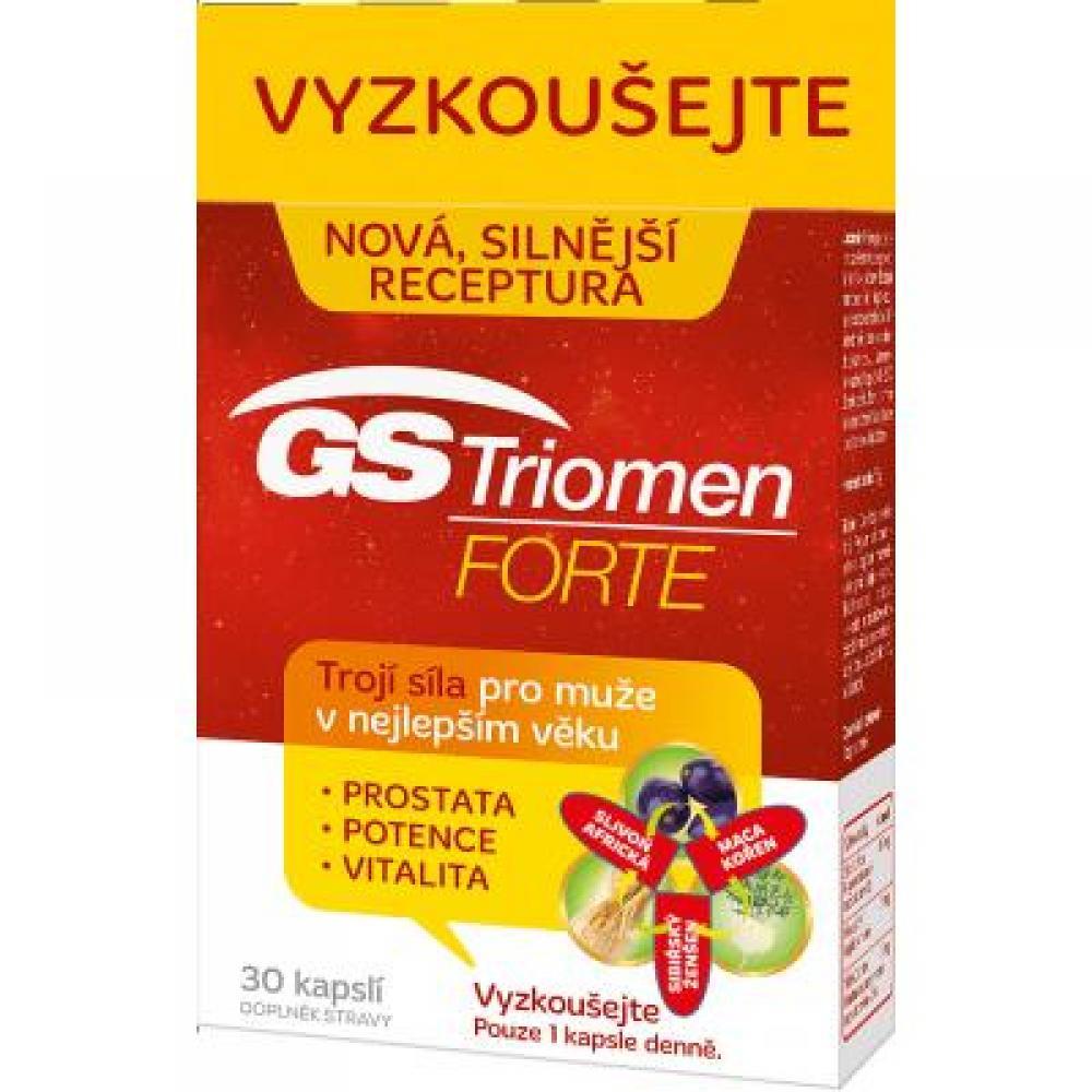 GS Triomen Forte 30 kapslí