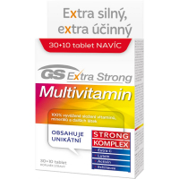 GS Extra Strong Multivitamin 30 + 10 tablet