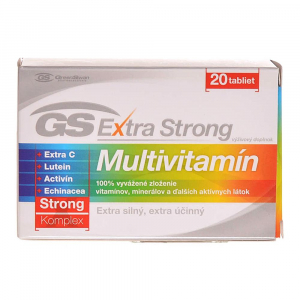 GS Extra Strong Multivitamin 20 tablet