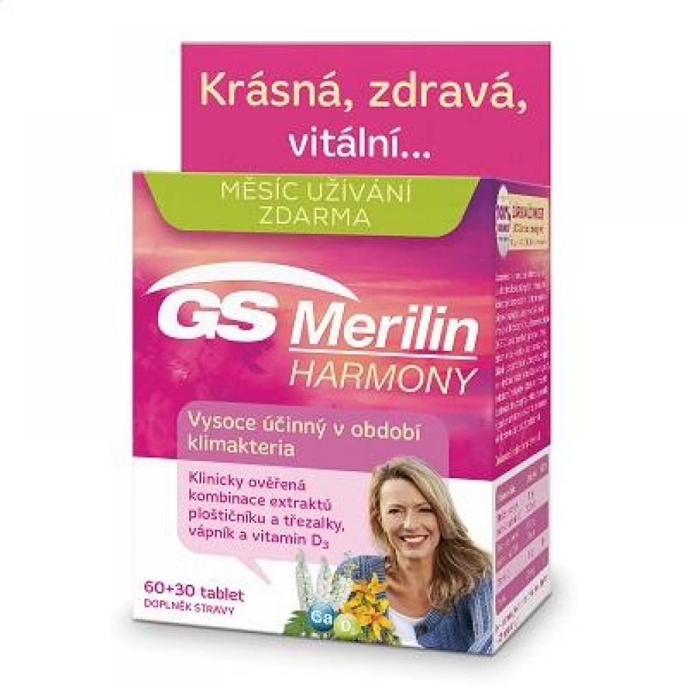 GS Merilin duopack Harmony 60+30 tablet