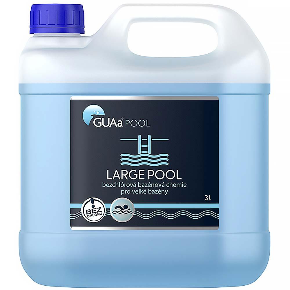 GUAA-POOL bazénová chemie 3 litry