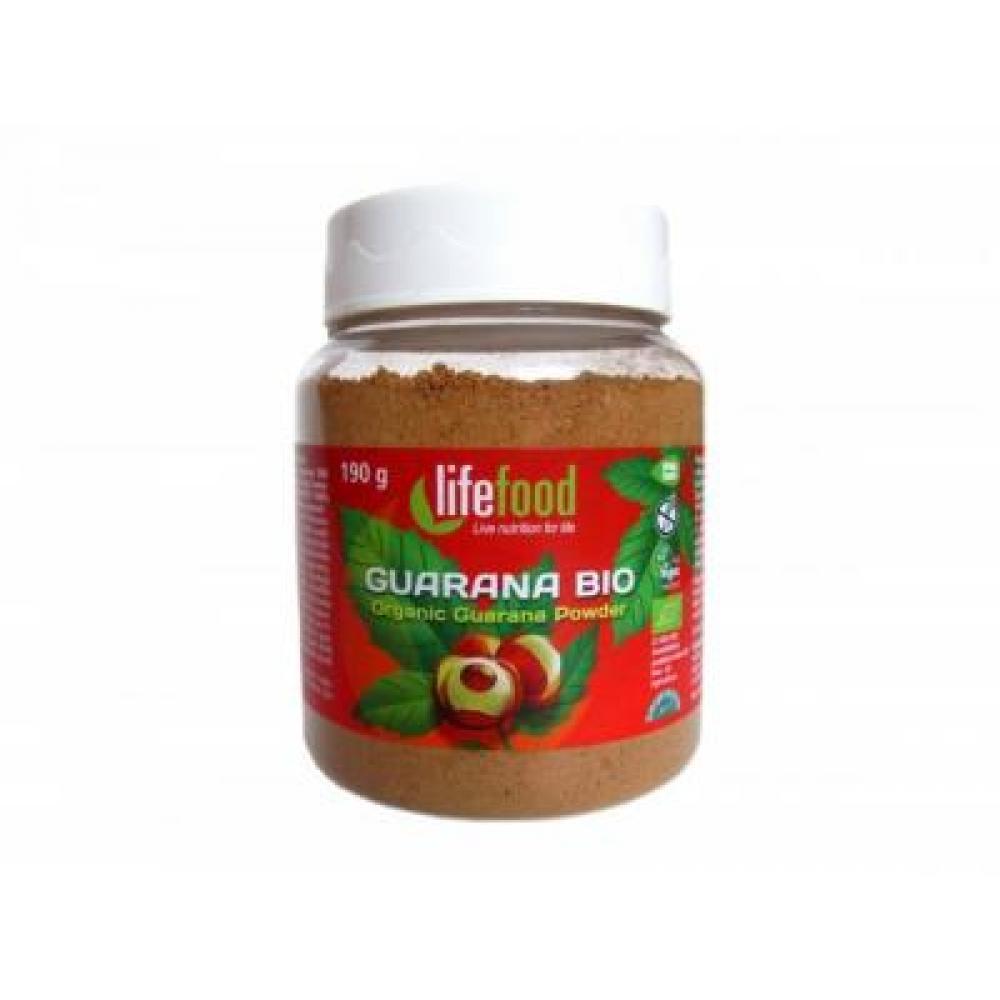Lifefood Guarana BIO prášek 190 g