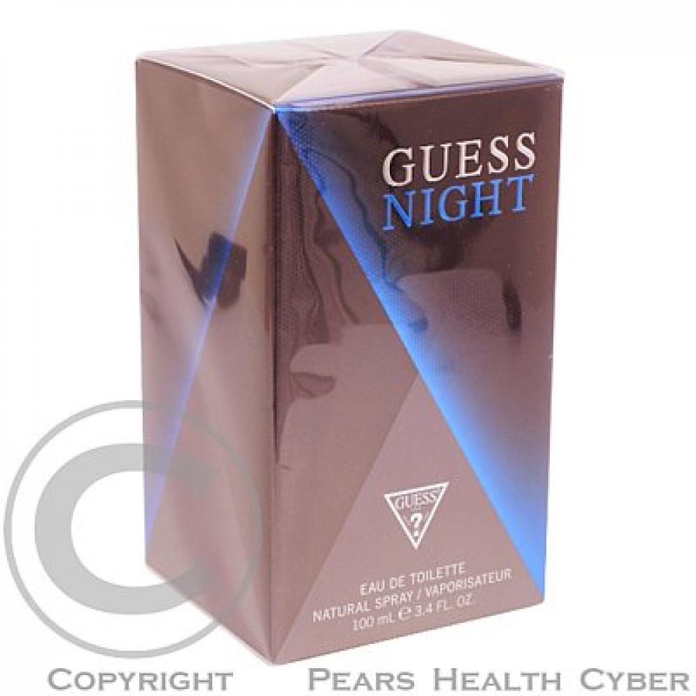Guess Night Toaletní voda 100ml