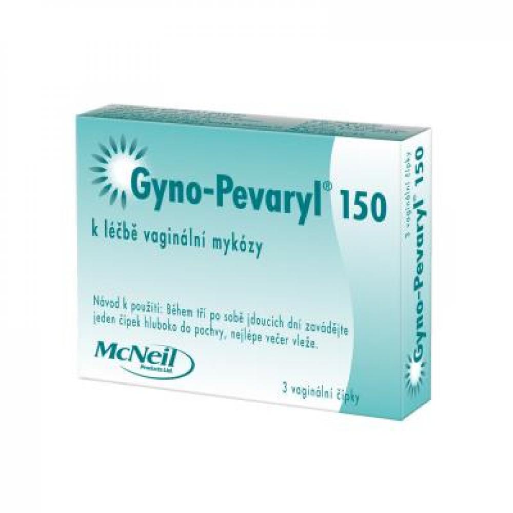 GYNO-PEVARYL 150 čípky 3 kusy