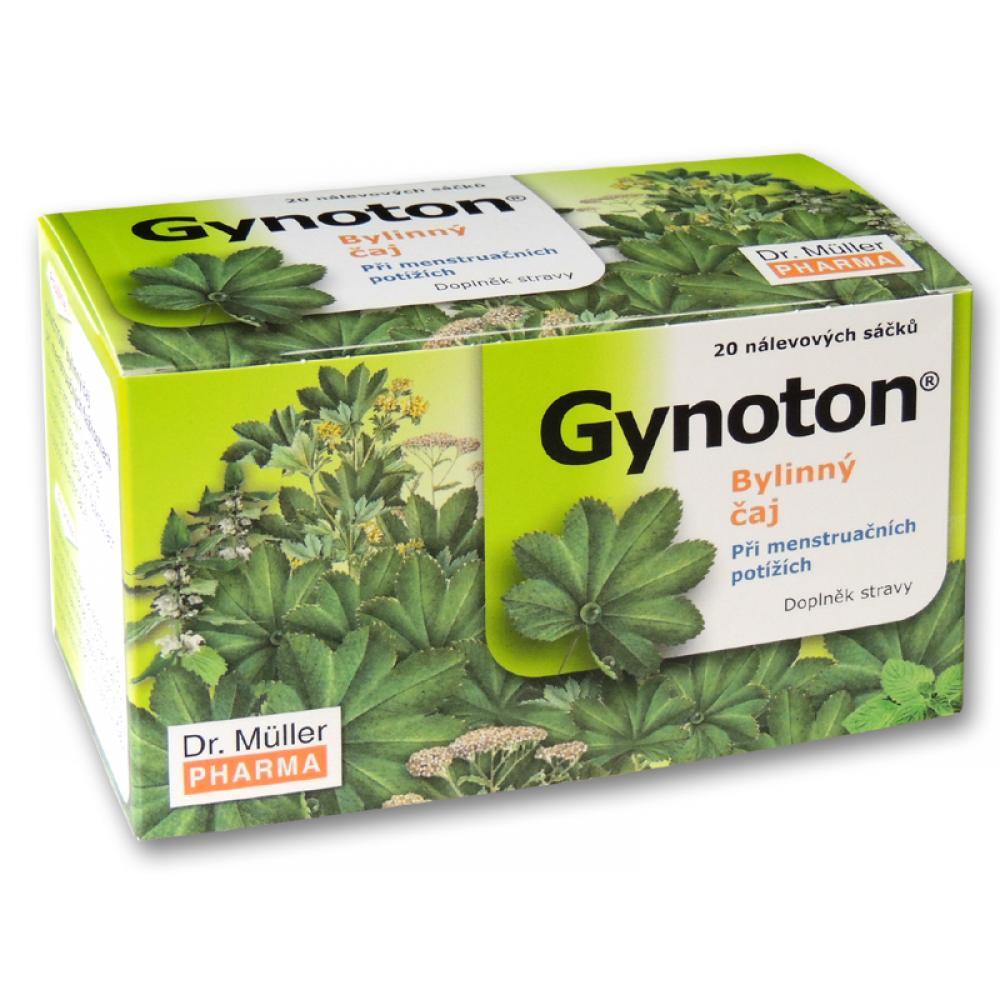Gynoton bylinný čaj při menstruačních potížích 20x1.5g