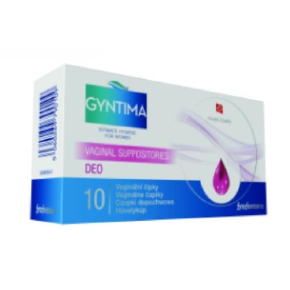 Fytofontana GYNTIMA vaginální čípky DEO 10 kusů