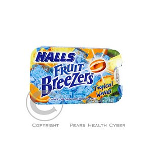 HALLS Fruit Breezers Tropical Waves