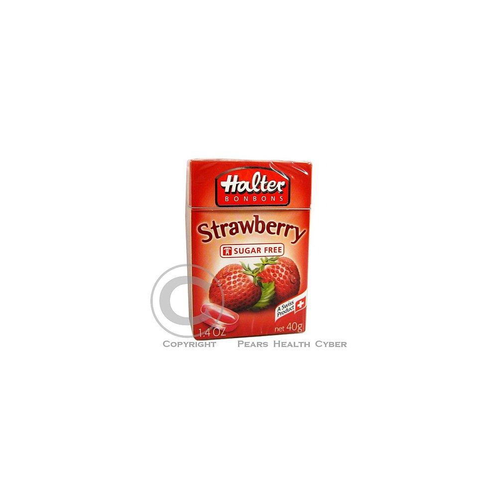 HALTER bonbóny Strawberry 40g (jahoda)