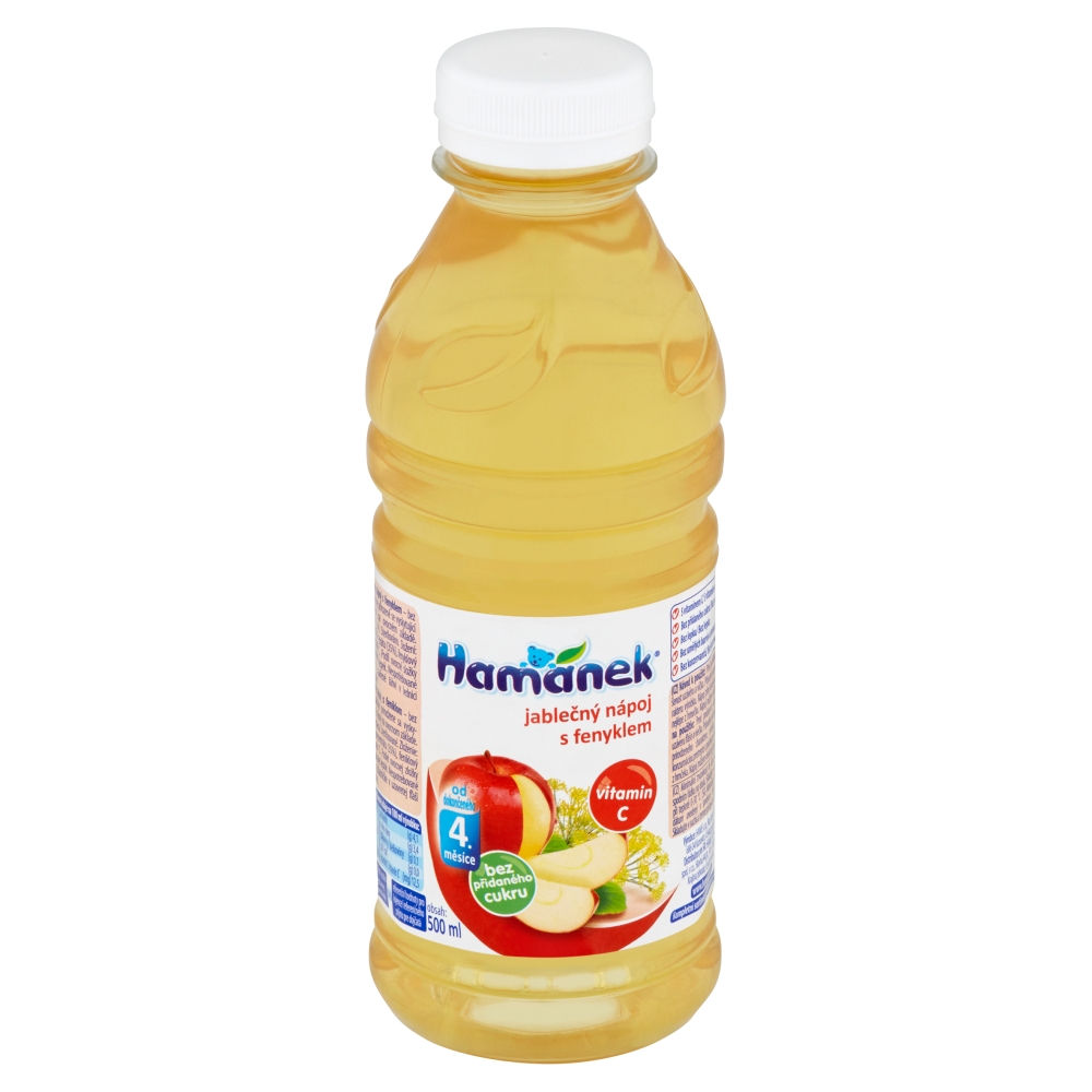 HAMÁNEK Jablečný nápoj s fenyklem 500 ml