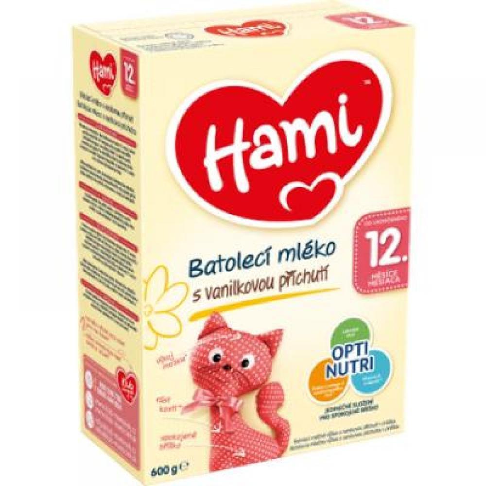 HAMI batolecí mléko vanilka 12+ 600 g