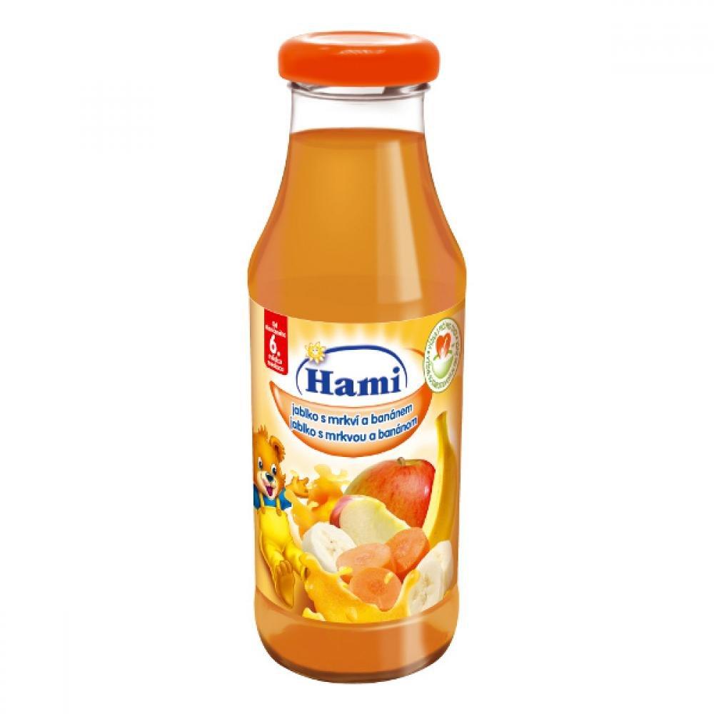 Hami nápoj jablko mrkev banán 300ml
