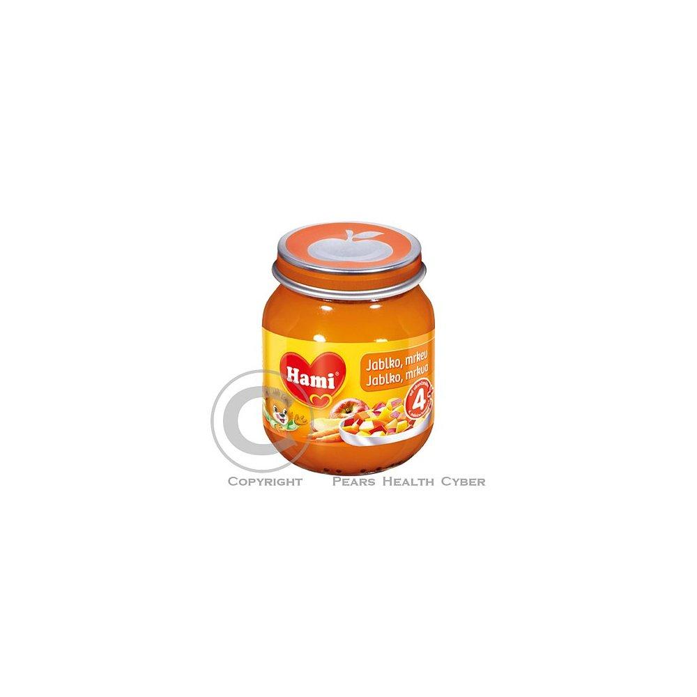 HAMI Ovocný příkrm jablko mrkev 125g