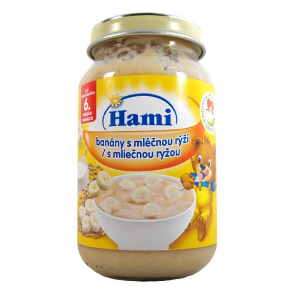 HAMI Ovocná svačinka banány mléčná rýže 190g