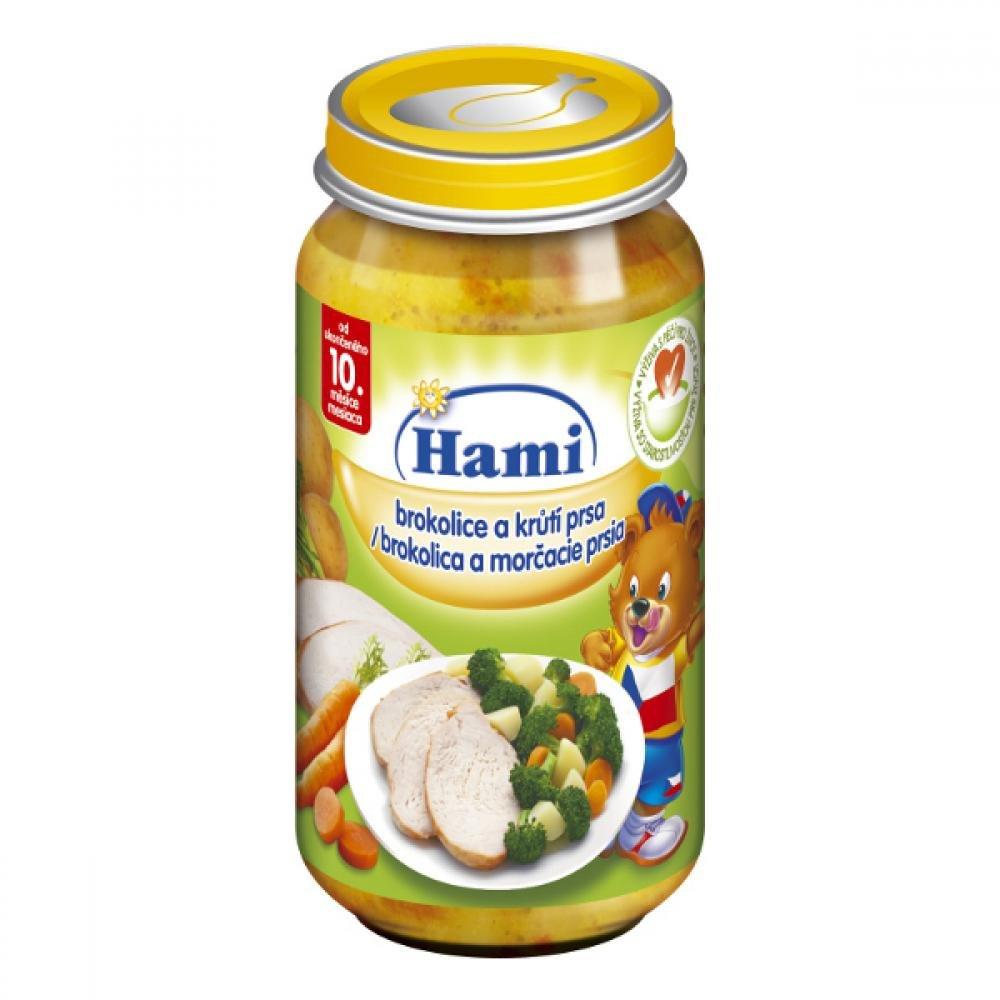 Hami Příkrm Brokolice + krůtí prsa 250 g