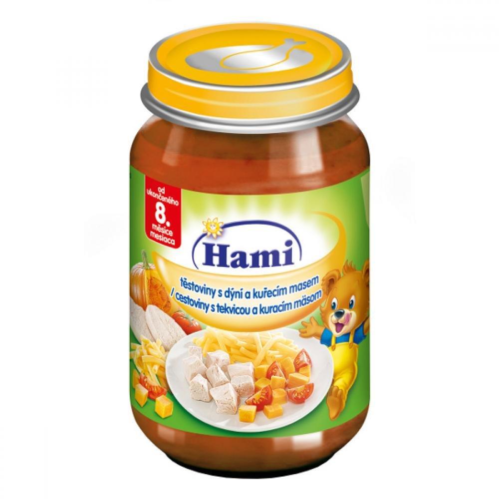 HAMI Těstoviny s dýní a kuřecím masem 200 g