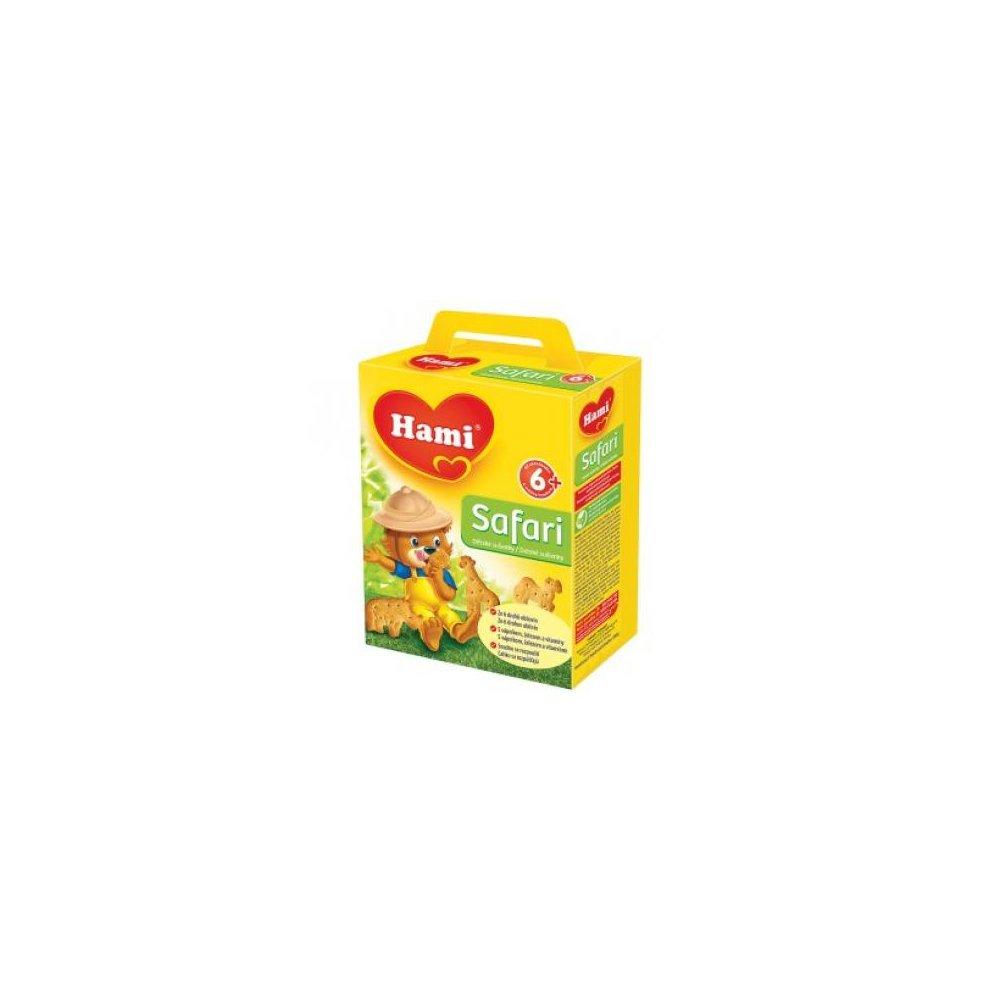HAMI Safari dětské sušenky 180 g
