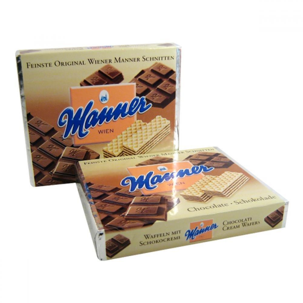 Manner Neapolitaner Čokoláda 75g oplat.s nápl.407