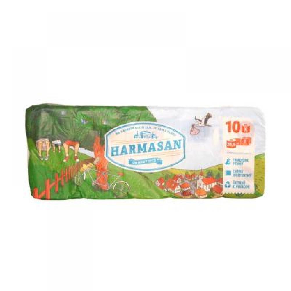 HARMASAN Toaletní papír dvouvrstvý 10 kusů