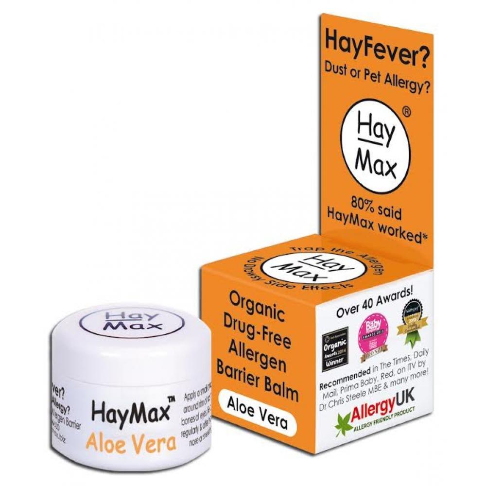 HAYMAX Přírodní balzám z Aloe vera 5 ml