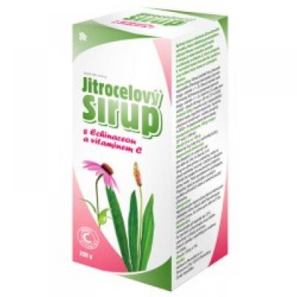 HBF Sirup jitrocelový s echinaceou a vitamínem C 320 g