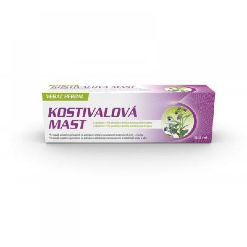 VERAL HERBAL kostivalová mast 100 ml