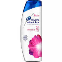 HEAD & SHOULDERS Smooth & Silky 2v1 šampon proti lupům 360 ml