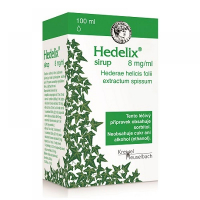 HEDELIX sirup 8 mg 100 ml