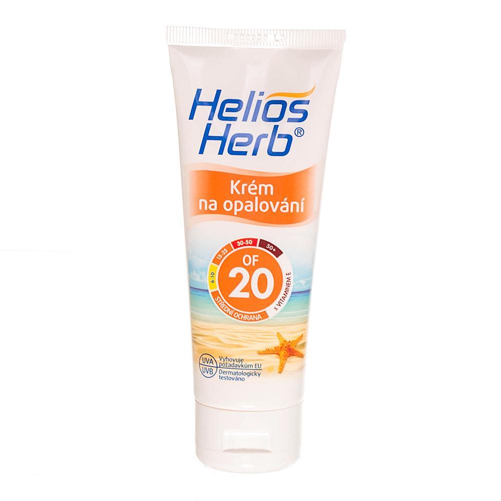 HELIOS Herb krém na opalování 75 ml OF 20