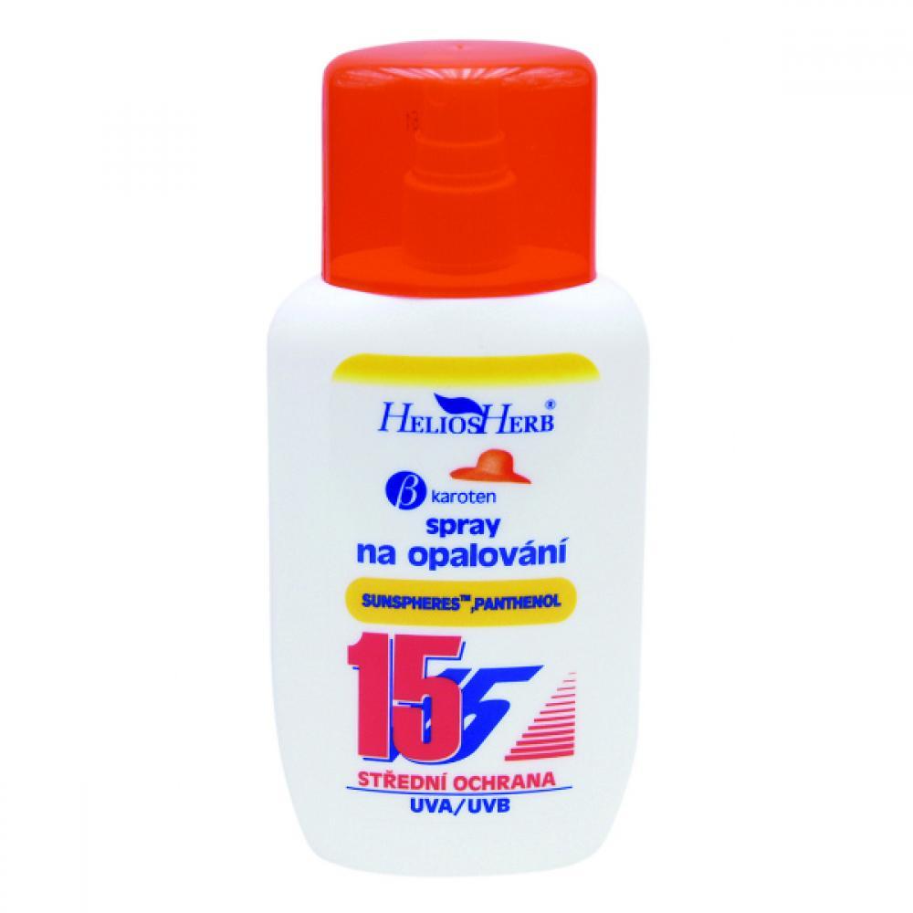 HELIOS Herb spray na opalování 200 ml OF 15