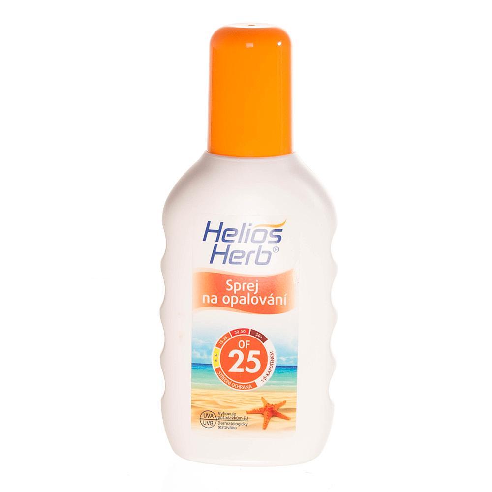 HELIOS Herb spray na opalování 200 ml OF 25