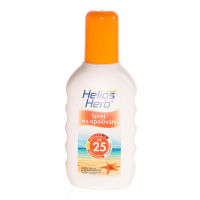 HELIOS Herb spray na opalování 200 ml OF 25
