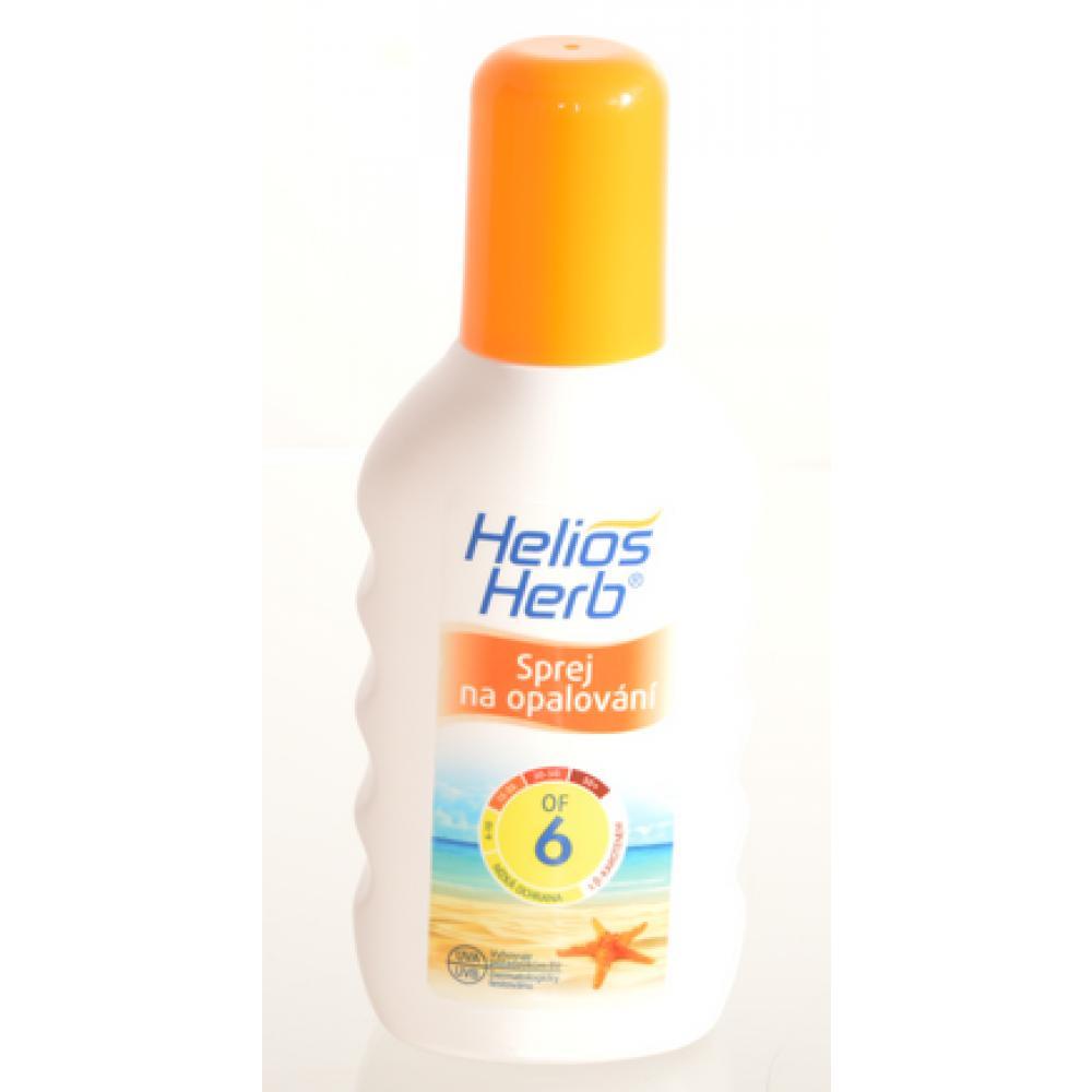 HELIOS Herb spray na opalování OF6 200 ml