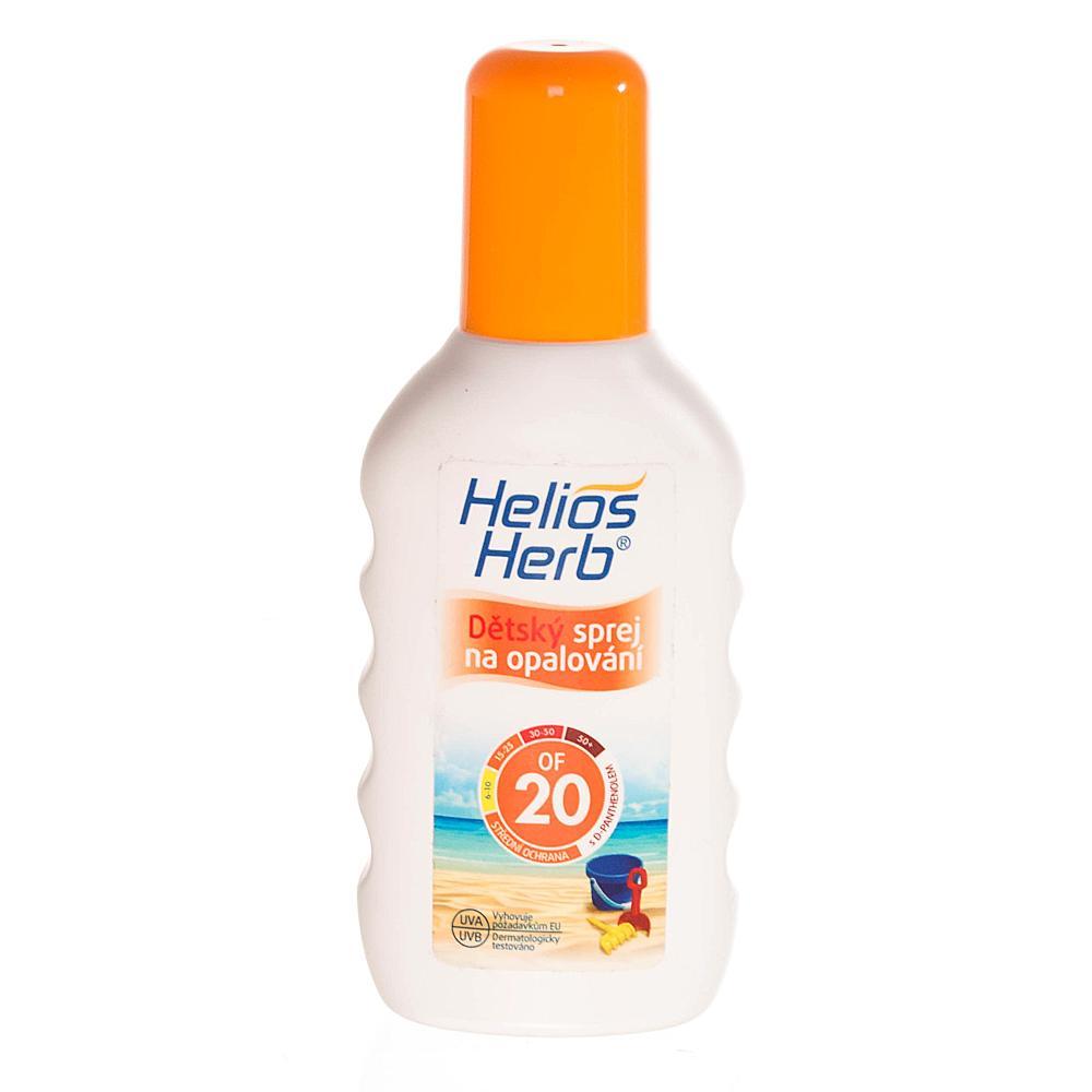 HELIOS Herb dětský spray na opalování 200 ml OF 20