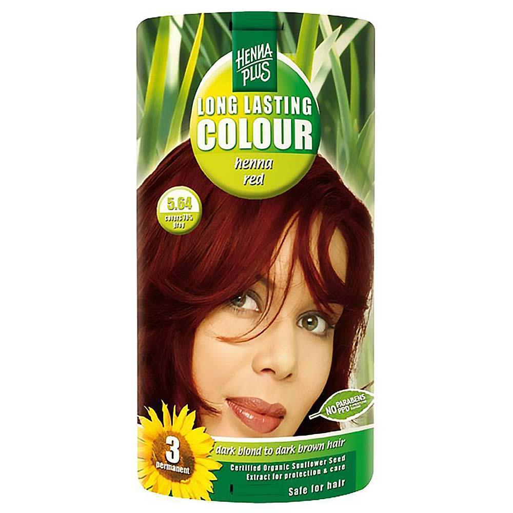 HENNA PLUS Přírodní barva na vlasy ČERVENÁ HENNA 5.64 100 ml