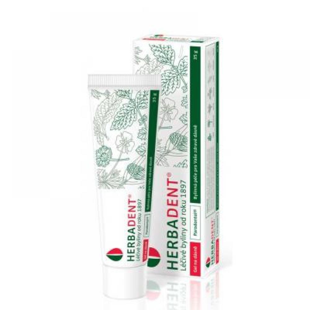 HERBADENT Bylinný gel na dásně parodontol 35 g