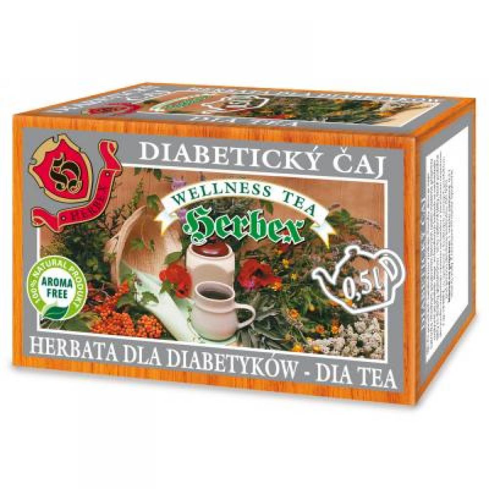 HERBEX Diabetický čaj 20x3 g