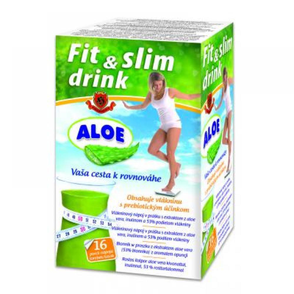 HERBEX FitLine Drink vlákninový nápoj Aloe Vera 16x6 g
