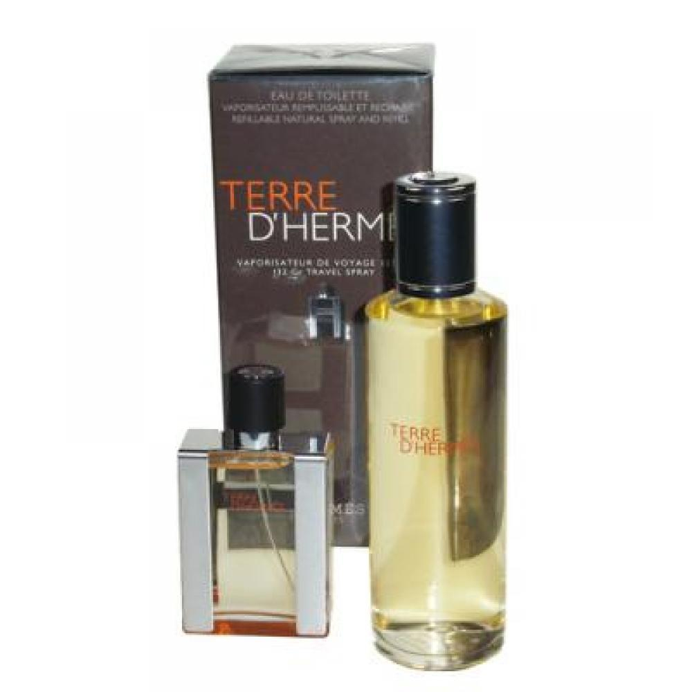 Hermes Terre D Hermes Toaletní voda 30ml Edt 30ml + 125ml Edt náplň
