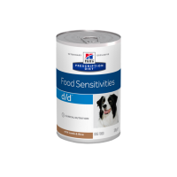 Hill's Prescription Diet™ d/d™ Canine Lamb konzerva 370 g