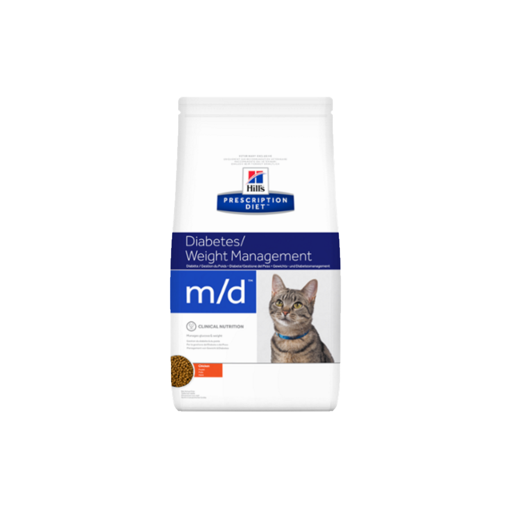 Hill's Prescription Diet™ m/d™ Feline granule 1,5 kg
