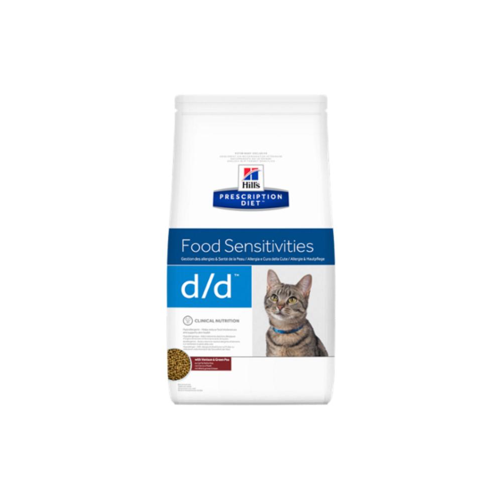 Hill's Prescription Diet™ d/d™ Feline Venison & Green Pea granule 1,5 kg