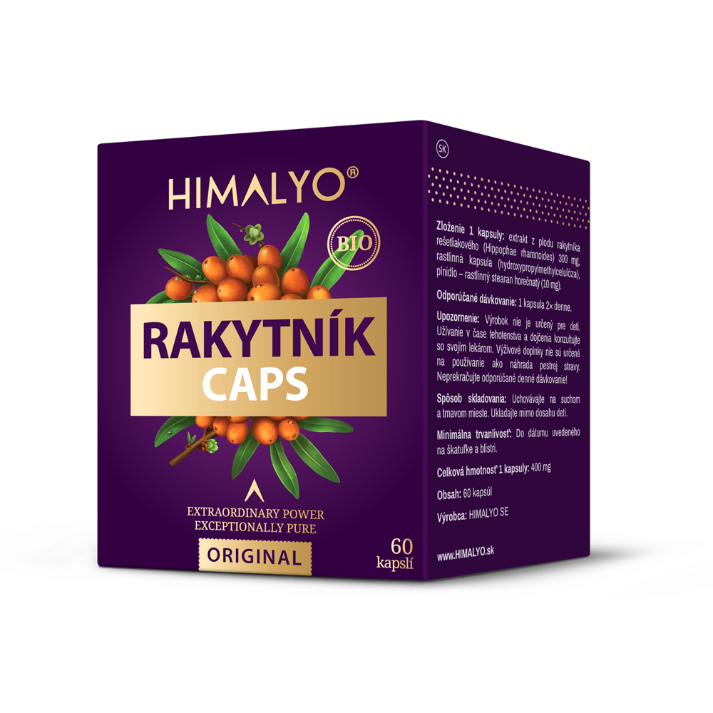 HIMALYO BIO Rakytník kapsle 60 ks