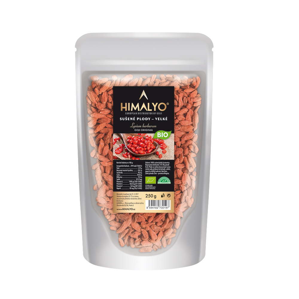 HIMALYO Sušené plody goji exclusive BIO 250 g