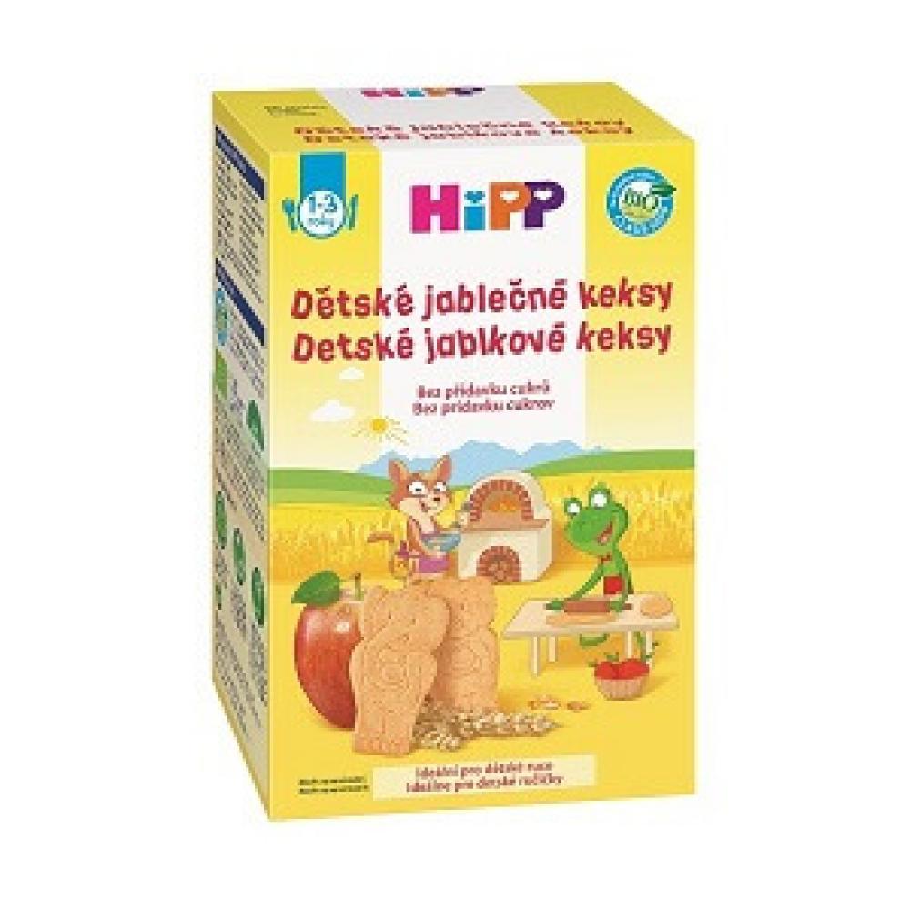 HiPP BIO Dětské jablečné keksy 150g CZ3559