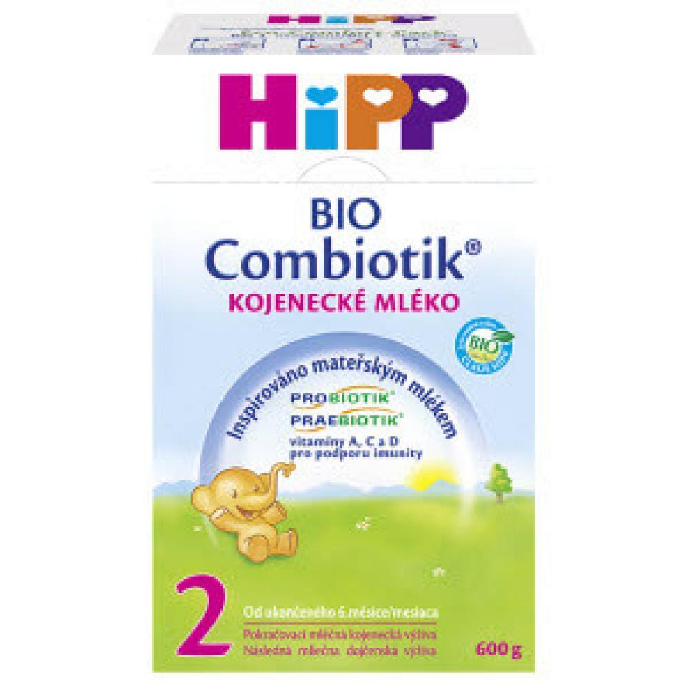HiPP Combiotic 2 kojenecké mléko 600 g