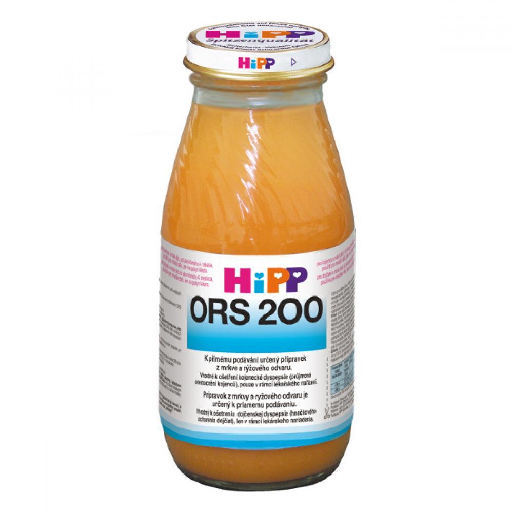 HIPP ORS 200 mrkvo-rýžový odvar proti průjmu 200 ml