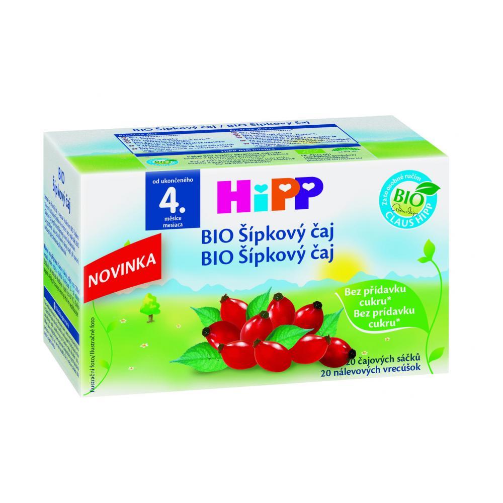 HIPP BIO Šípkový sáčkový čaj 20 x 2 g
