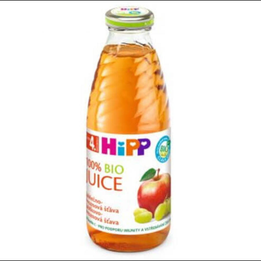 HIPP Šťáva Jablečno-hroznová BIO 500 ml