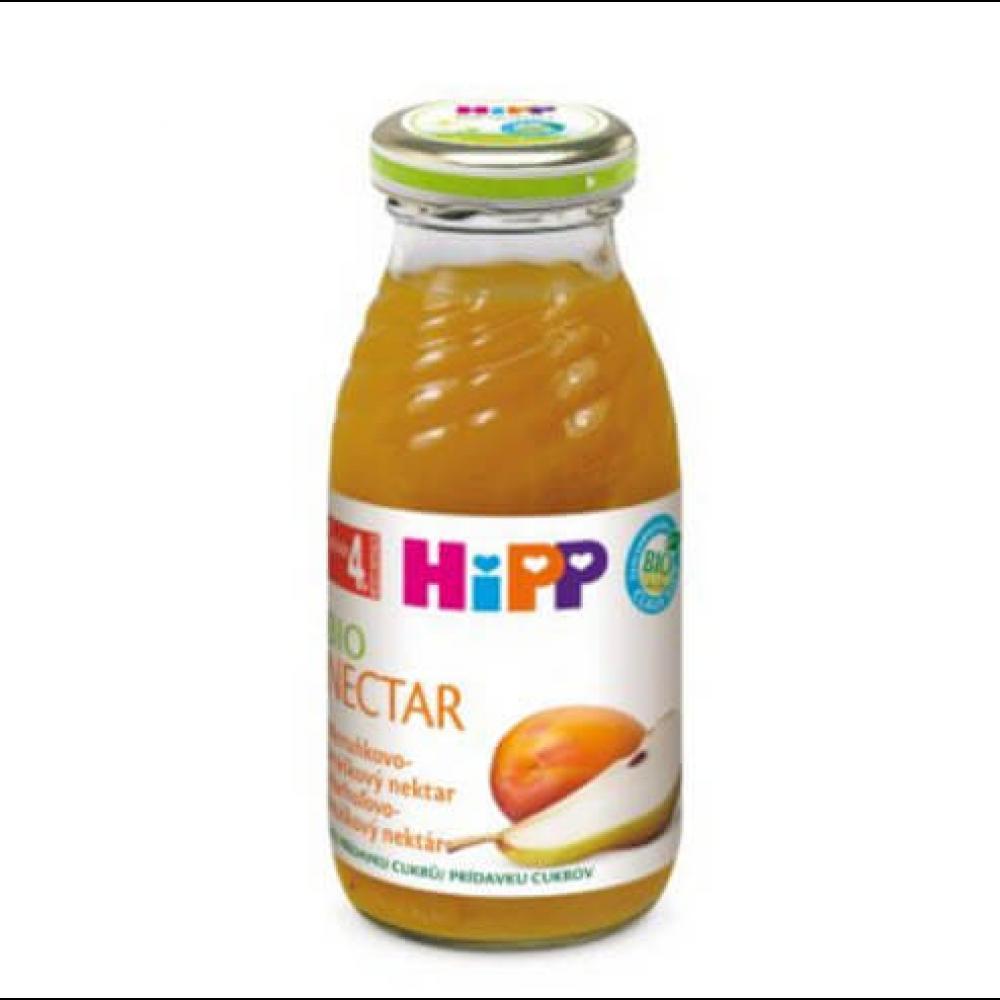 HIPP Šťáva Meruňkovo-hruškový nektar BIO 200 ml