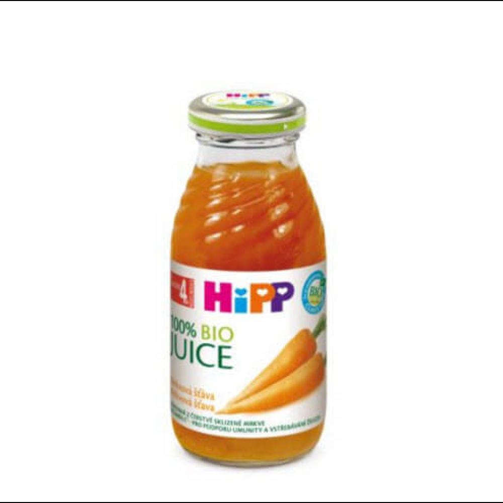 HIPP Šťáva Mrkvový nápoj BIO 200 ml